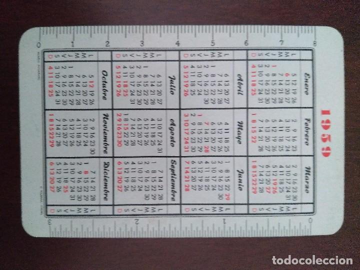 Coleccionismo Calendarios: Calendario Fournier de Gas Lebón. Año 1959. - Foto 2 - 104657767