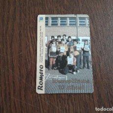 Coleccionismo Calendarios: CALENDARIO DE PUBLICIDAD ROMERO, COMUNIDAD CRISITANA, 10 ANIVERSARIO AÑO 2008. Lote 104838431