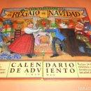 Coleccionismo Calendarios: LOS TELEÑECOS. EL REGALO DE NAVIDAD. CALENDARIO DE ADVIENTO. CON 24 CUENTOS EN SU INTERIOR. RARO.. Lote 104943687
