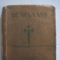Coleccionismo Calendarios: CALENDARIO ALMANAQUE MONARQUICO DE BOLSILLO -AÑO 1936 - MUCHISIMAS FOTOS-VER FOTOS-(V-12.840). Lote 104960243