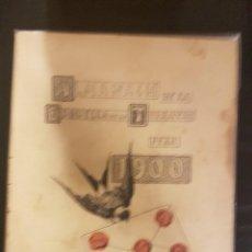Coleccionismo Calendarios: ESQUELLA DE LA TORRATXA ALMANACH 1900. Lote 104980247