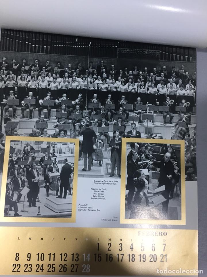 Coleccionismo Calendarios: CALENDARIO TEATRO REAL DE PARED 1971. FOTOS GYENES - Foto 2 - 105070390