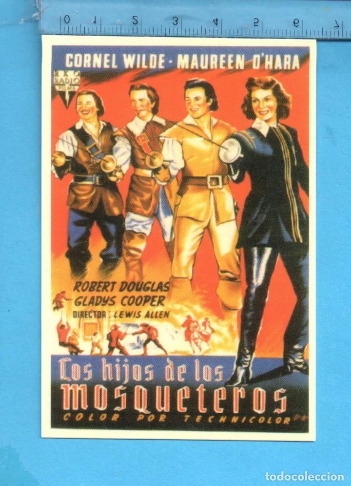 CALENDARIOS DE CINE LOS HIJOS DE LOS MOSQUITEROS DE COLECCIÓN CLÁSICOS CINE Nº 27 AÑO 2006 (Coleccionismo - Calendarios)