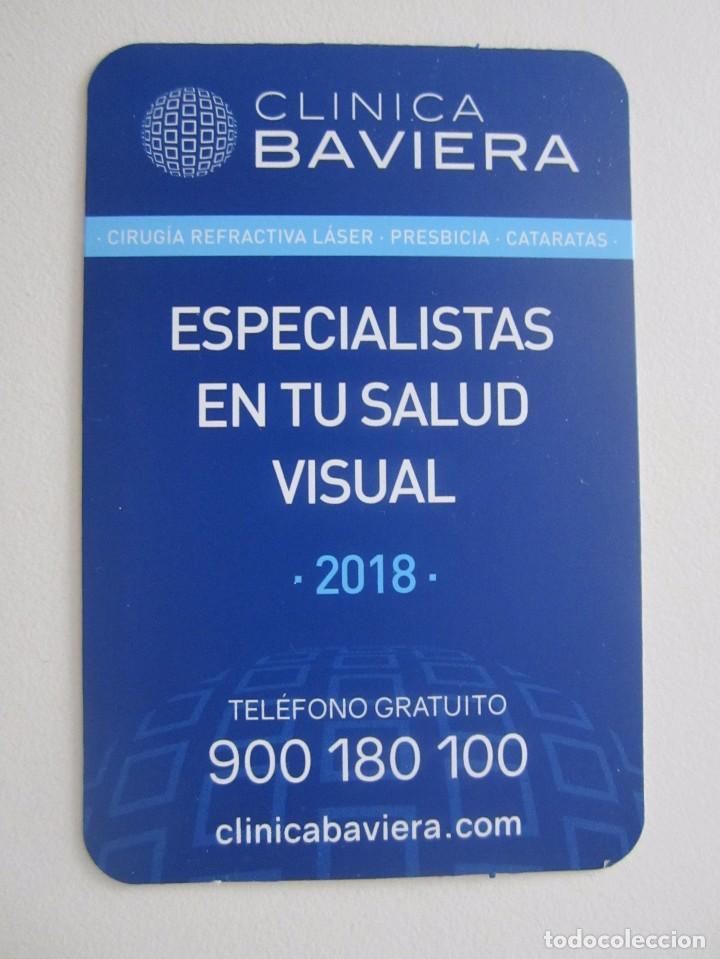 CALENDARIO CLÍNICA BAVIERA 2018 (Coleccionismo - Calendarios)