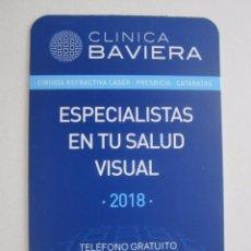 Coleccionismo Calendarios: CALENDARIO CLÍNICA BAVIERA 2018. Lote 117120738