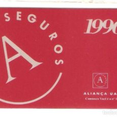 Sammeln von Kalendern - CALENDARIO BOLSILLO PUBLICITARIO PORTUGAL AÑO 1996 SEGUROS - ALIANÇA UAP - 105977671