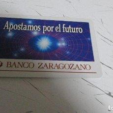 Coleccionismo Calendarios: CALENDARIO FOURNIER - BANCO ZARAGOZANO - 1987. Lote 119779331