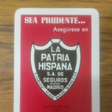 Coleccionismo Calendarios: CALENDARIO H.FOURNIER LA PATRIA HISPANA.AÑO 1.964.. Lote 106089666