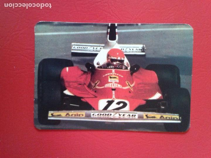 Formula 1 Calendario.Almanaque Calendario De Bolsillo Ano 1977 Coche Formula 1