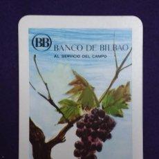 Coleccionismo Calendarios: CALENDARIO FOURNIER. BANCO DE BILBAO. 1970. Lote 107317171