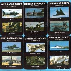Coleccionismo Calendarios: VENTE Y CUATRO CALENDARIOS - SERIE PORTUGAL DE GUERRA DEL GOLFO DEL AÑO 1992. Lote 107733111