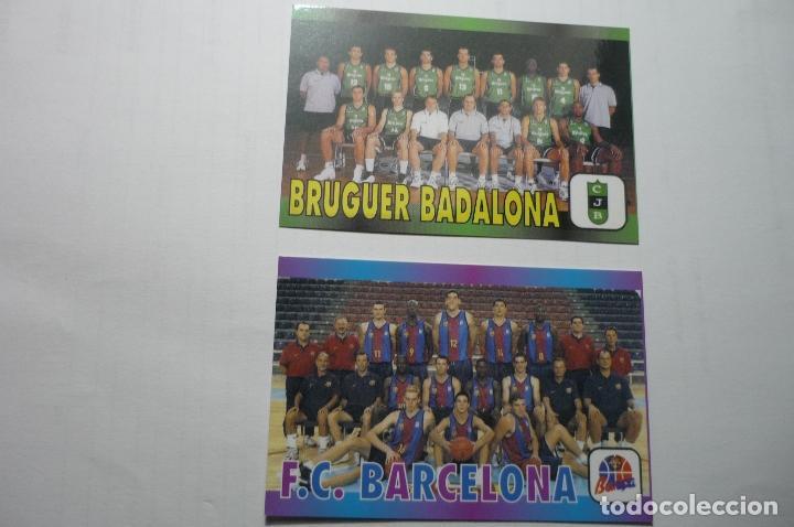LOTE CALENDARIOS BALONCESTO JUVENTUD BADALONA--FC BARCELONA 2000 (Coleccionismo - Calendarios)