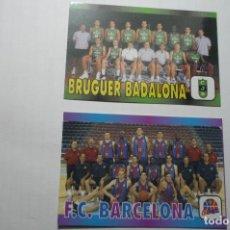 Coleccionismo Calendarios: LOTE CALENDARIOS BALONCESTO JUVENTUD BADALONA--FC BARCELONA 2000. Lote 107816451