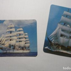 Coleccionismo Calendarios: LOTE CALENDARIOS BARCOS 1998-2000. Lote 107819463