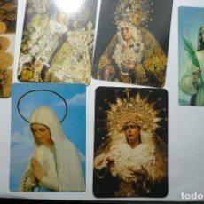Coleccionismo Calendarios: LOTE CALENDARIOS RELIGIOSOS .VIRGENES DIF.AÑOS . Lote 107829675