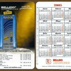 Coleccionismo Calendarios: CALENDARIOS BOLSILLO FOURNIER 2005 - BELLIDO. Lote 107894983