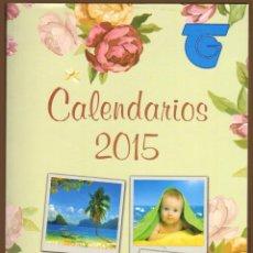 Coleccionismo Calendarios: CATALOGO CALENDARIOS 2015 - BO. Lote 215456468