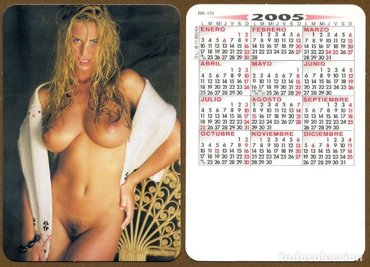 CALENDARIOS BOLSILLO DESNUDOS - CHICA 2005 (Coleccionismo - Calendarios)
