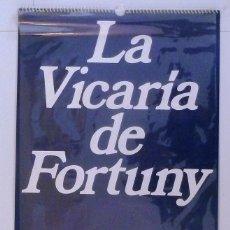 Coleccionismo Calendarios: CALENDARIO PARED.1975 FINANCIERA MADERERA . 6 LAMINAS DE FORTUNY. PINTURA. ARTE.. Lote 108433363