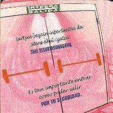 Coleccionismo Calendarios: CALENDARIO PUBLICITARIO - 2006 - GOBIERNO VASCO. Lote 108825803