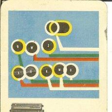 Coleccionismo Calendarios: CALENDARIO FOURNIER - 1959 - HISPANO OLIVETTI. Lote 109196131