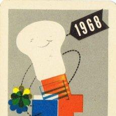 Coleccionismo Calendarios: CALENDARIO PUBLICIDAD TUNGSRAM KRYPTON AÑO 1968. Lote 109374887