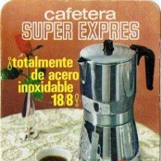 Coleccionismo Calendarios: CALENDARIO CAFETERA SUPER EXPRESS BRA AÑO 1969 . Lote 109375075