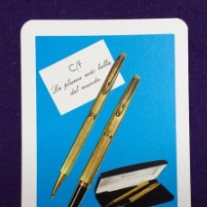 Coleccionismo Calendarios: CALENDARIO FOURNIER. WATERMAN. 1971. Lote 110126783