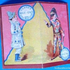 Coleccionismo Calendarios: CALENDARIO PARA 1883. CLARK'S. SPOOL COTTON. ALMOHADAS DE ALGODÓN. JOHN CLARK JR & CO'S.. Lote 110220563