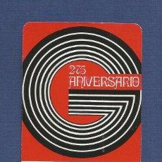 Coleccionismo Calendarios: CALENDARIO DE BOLSILLO FOURNIER AÑO 1973 - L. GUARRO CASAS. Lote 110249939