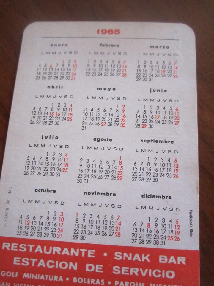 Coleccionismo Calendarios: LOTE DE CALENDARIOS PUBLICITARIOS AÑOS 70 Y 80 - Foto 14 - 110436267