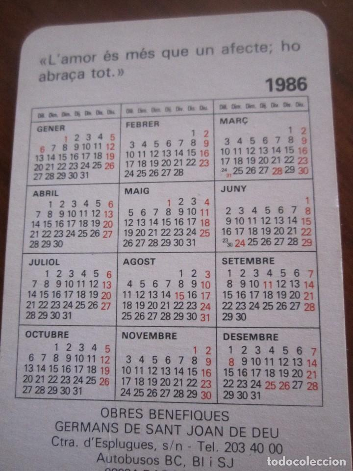 Coleccionismo Calendarios: LOTE DE CALENDARIOS PUBLICITARIOS AÑOS 70 Y 80 - Foto 2 - 110436267
