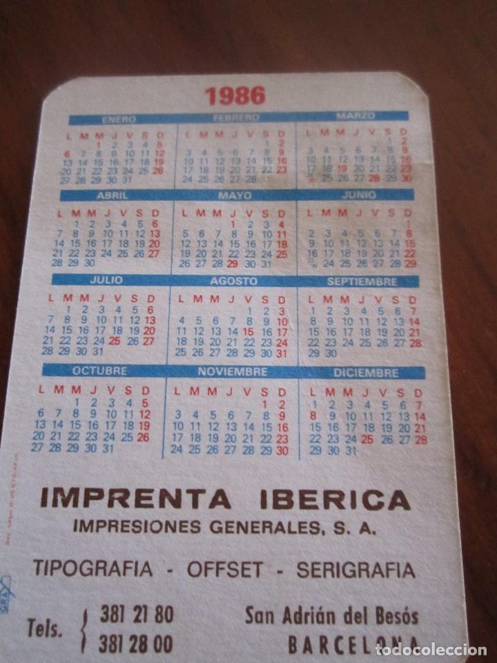 Coleccionismo Calendarios: LOTE DE CALENDARIOS PUBLICITARIOS AÑOS 70 Y 80 - Foto 4 - 110436267