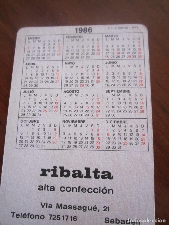 Coleccionismo Calendarios: LOTE DE CALENDARIOS PUBLICITARIOS AÑOS 70 Y 80 - Foto 9 - 110436267