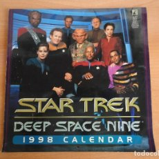 Coleccionismo Calendarios: CALENDARIO DE PARED STAR TREK. 1998. DEEP SPACE NINE. DEFECTOS. LEER.. Lote 111128579