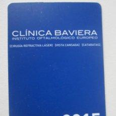 Coleccionismo Calendarios: CALENDARIO CLÍNICA BAVIERA 2015. Lote 177961905