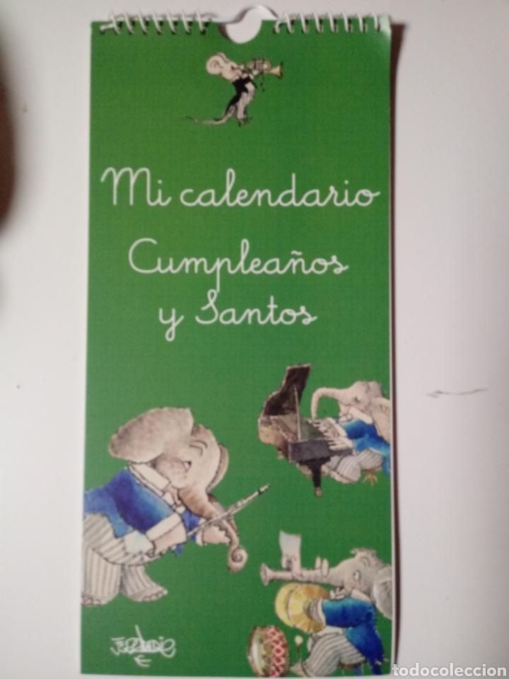 Calendario Santos.Mi Calendario De Cumpleanos Y Santos Memory Fer Sold Through