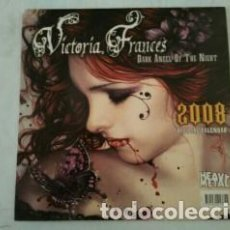 Coleccionismo Calendarios: CALENDARIO 2008 VICTORIA FRANCÉS. Lote 112080327