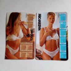 Coleccionismo Calendarios: CALENDÁRIO DE BOLSILLO LANGERIE 1993. Lote 112115019