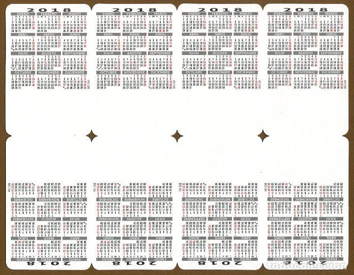 Coleccionismo Calendarios: 80 Calendarios Bolsillo – TT 2018 - Foto 11 - 112157371