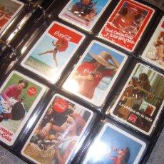 Coleccionismo Calendarios: ALBUM CON COLECCION DE 264 CALENDARIOS DE PEPSI COLA Y COCA COLA....PERFECTO ESTADO DE CONSERVACION.. Lote 112204131