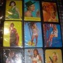 Coleccionismo Calendarios: ALBUM CON COLECCION PECULIAR DE.. 467 CALENDARIOS DE CHICAS FUMANDO Y BEBIENDO.. Lote 112271987