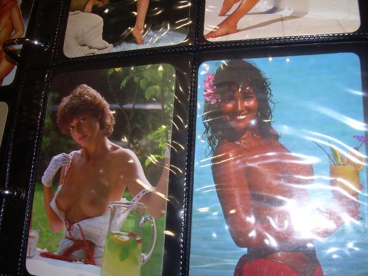 Coleccionismo Calendarios: ALBUM CON COLECCION PECULIAR DE.. 467 CALENDARIOS DE CHICAS FUMANDO Y BEBIENDO. - Foto 9 - 112271987