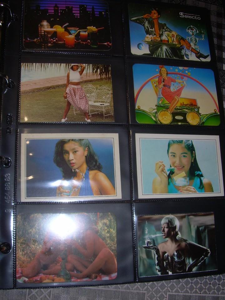 Coleccionismo Calendarios: ALBUM CON COLECCION PECULIAR DE.. 467 CALENDARIOS DE CHICAS FUMANDO Y BEBIENDO. - Foto 41 - 112271987