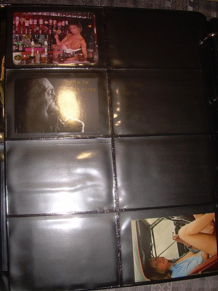 Coleccionismo Calendarios: ALBUM CON COLECCION PECULIAR DE.. 467 CALENDARIOS DE CHICAS FUMANDO Y BEBIENDO. - Foto 42 - 112271987