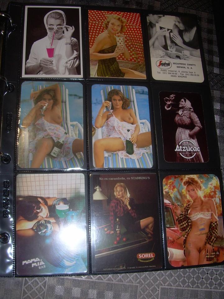 Coleccionismo Calendarios: ALBUM CON COLECCION PECULIAR DE.. 467 CALENDARIOS DE CHICAS FUMANDO Y BEBIENDO. - Foto 44 - 112271987