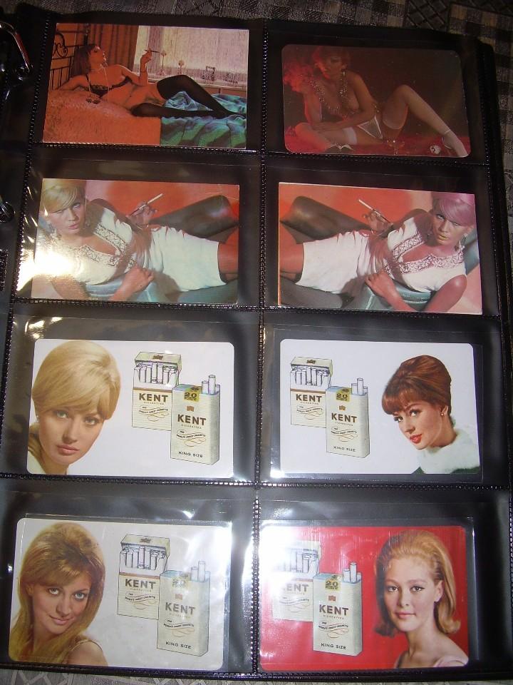 Coleccionismo Calendarios: ALBUM CON COLECCION PECULIAR DE.. 467 CALENDARIOS DE CHICAS FUMANDO Y BEBIENDO. - Foto 64 - 112271987