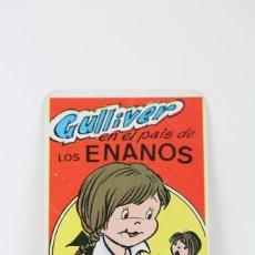 Coleccionismo Calendarios: CALENDARIO PUBLICITARIO DE BOLSILLO - AÑO 1981 - GULLIVER EN EL PAIS DE LOS ENANOS / NAIPES COMAS. Lote 112439159