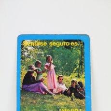 Coleccionismo Calendarios: CALENDARIO PUBLICITARIO DE BOLSILLO - AÑO 1976 - SANTA LUCIA S.A.. Lote 112439298
