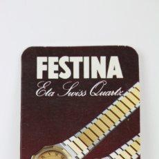 Coleccionismo Calendarios: CALENDARIO PUBLICITARIO DE BOLSILLO - AÑO 1982 - FESTINA / DESPLEGLABLE PREFIJOS. Lote 112439395